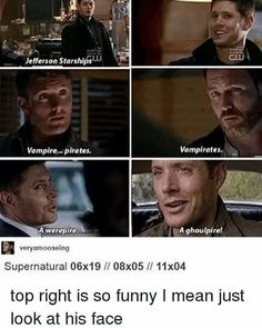 Funny supernatural quotes jensen ackles 30 Ideas for 2019 Supernatural Bloopers, Supernatural Tattoo, Supernatural Imagines, Supernatural Wallpaper, Supernatural Memes, Funny Quotes About Life, Life Quotes, Jefferson Starship, Pikachu
