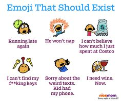 cute emojis with quotes - Google Search