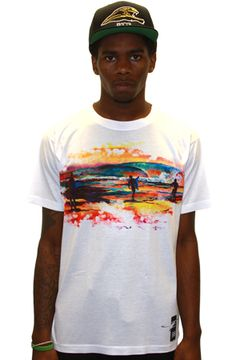 The Through The Fire Tee_White by 8103