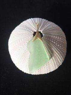 Gorgeous Mint Green SEA GLASS PENDANT; Beach Glass; Nautical Brushed Gold Charm; Handmade by GLASSHOUSEmuse on Etsy https://www.etsy.com/listing/229350965/gorgeous-mint-green-sea-glass-pendant
