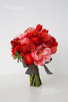 Our Colourful Bouquets For Wedluxe Magazine - Wedding Decor Toronto Rachel A. Clingen Wedding