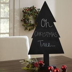 Christmas Tree Chalkboard