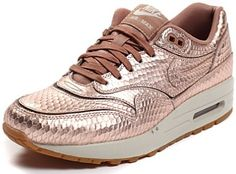 quality design af770 ea044 NIKE AIR MAX 1 CUTOUT PREMIUM METALLIC GOLD BRONZE 644398 900  190 Air Max 1 ,