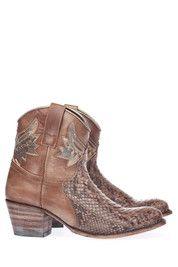 Bruine Sendra boots 10892 enkelaarsjes