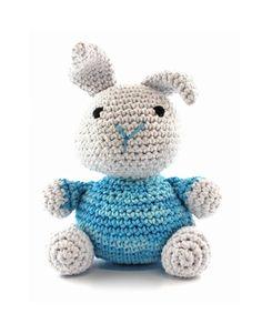 Bunny (Peppermint Freeze) amigurumi / crochet kit & pattern by Hoooked