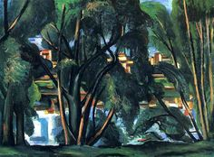 Andre Derain - Trees on the Banks of the Seine