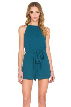 The Fifth Label Applied Imagination Romper in Teal