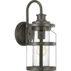 Large (larger than 9 inches) Outdoor Wall Lighting at Lowes.com Outdoor Wall Lantern, Outdoor Wall Sconce, Outdoor Wall Lighting, Outdoor Walls, Led Exterior Lighting, Lantern Designs, Media Wall, Transitional Wall Sconces, Progress Lighting