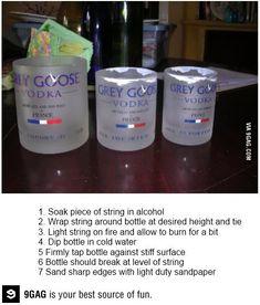 glasses from my favorites liquor bottles