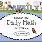 Your students will ask to do MORE MATH once they start using these fun Common Core Daily Math packets. These pages spiral the Common Core math stan...