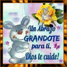 The perfect Abrazo Heart Love Animated GIF for your conversation. Good Night Greetings, Good Night Wishes, Good Day Quotes, Morning Inspirational Quotes, Abrazo Gif, Good Morning In Spanish, Day And Nite, Animated Emoticons, Spanish Greetings