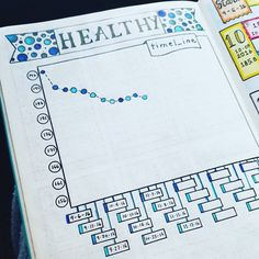 Weight Loss E-Factor Diet - Tons of bullet journal tracker ideas to keep track of everything important in your life Bullet Journal Tracker, Bullet Journal Sport, Bullet Journal Page, Journal Pages, Bullet Journals, Bullet Journal 5 Year Plan, Calendar Journal, Planner Journal, Weight Loss Journal