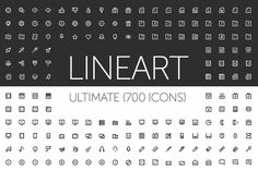 Check out LineArt Icons by Pixel Bazaar on Creative Market