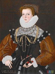 Lady Philippa Coningsby, circa 1578-I find this a rather odd gown.