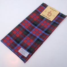 Woven in Scotland from fine weight wool - Available from ScotClans