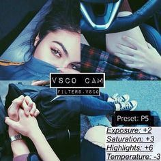 Kylie Jenner Filters On Vsco Cam #Beauty #Trusper #Tip