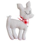 by Zü - Faon Love Paris - 2 Handmade Toys, Dinosaur Stuffed Animal, Paris, Pillows, Decoration, Illustration, Kids, Animals, Baby Deer