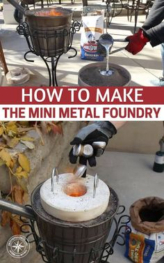 How To Make The Mini Metal Foundry There are lots of things in this life that simple. We should all strive towards a more simple life. It makes everything better.
