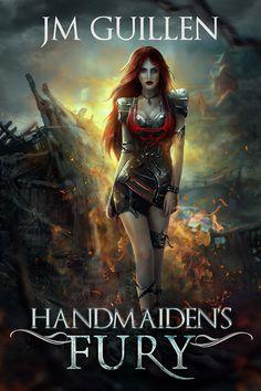 Cover art - Handmaiden's Fury - by JM Guillen.