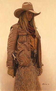 A Cowboy named Anne                         Artist: James Bama