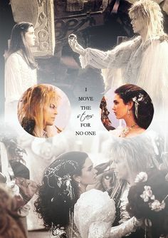 I Move the Stars for No One - 'Labyrinth' (1986). David Bowie as 'Jareth' the Goblin King and Jennifer Connelly as 'Sarah'.
