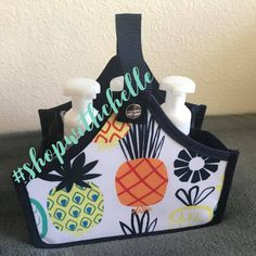 Pineapples!!🍍🍍🍍 How cute is this new print?! #thirtyonegifts #pineapple #caddy #minicatchallbin