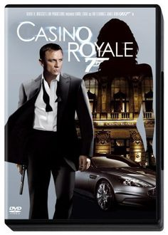 """Casino Royale (2006) directed by Martin Campbell, based on the book by Ian Fleming, starring Daniel Craig, Eva Green and Judi Dench. """"In his first mission, James Bond must stop Le Chiffre, a banker to the world's terrorist organizations, from winning a high-stakes poker tournament at Casino Royale in Montenegro."""""""