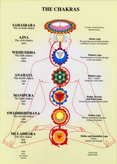 Yoga Chakra mantras and the relevance between mind and body.