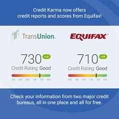 Credit Karma Adds A Second Free Credit Score  Free Credit Score