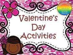 This Valentine's Day Activity package is full of no-prep holiday themed activities - includes word scramble, riddles, simple addition and subtraction questions, colouring pages, writing page, word search and a symmetry activity.  Print and go - black and white pages are printer friendly.