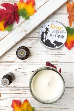 This woodsy scented soy candle is so simple and easy to make. You're only going to need a few ingredients and some essential oils to get started. It's simple to create and burns clean. Say goodbye to all those chemicals in your house and instead, make your very own homemade candle. You just might find out that you don't ever want to go back to a storebought candle ever again. Great for home use or to even give as a gift. #homemadecandle #soycandle #fallscents #candlemaking #homemadegift Small Mason Jars, Mason Jar Candles, Diy Candles, Homemade Christmas Gifts, Homemade Gifts, Where To Buy Candles, Candle Making Jars, Homemade Soy Candles, Pure Beauty