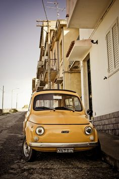 Fiat 500 registered in Roma, imagine the fun had in this..