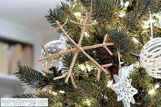 Snowflake Ornament Tutorial