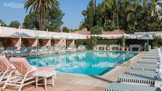 beverly hills hotel - the right kind of outdoor furniture for the beach house