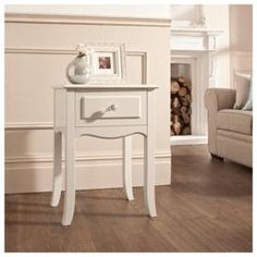 Buy Lille Bedside Table, Ivory from our Bedside Chests & Tables range - Tesco.com