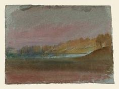Joseph Mallord William Turner 'The View from Petworth House, with Lawn Hill and Petworth Lake', 1827