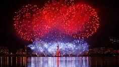 Árvore de Natal da Lagoa é inaugurada no Rio de Janeiro