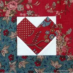 how to make a heart block wall hanging sew along
