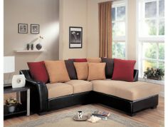 Lily Living Room Sectional Sofa by Coaster http://www.maxfurniture.com/living-room/seating/lily-living-room-sectional-sofa-by-coaster.html #decor #furniture