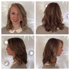 Aveda. Blonde highlights. Medium length hair. Nashville hairstylist. Find me at Jón Alan Salon in Bellevue.