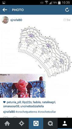 Crochet cuello