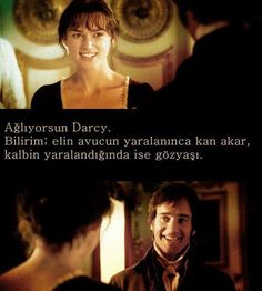 Aşk ve Gurur ( - Pride And Prejudice) Pride And Prejudice And Zombies, Movie Lines, Series Movies, Happy Campers, Cool Words, I Movie, Karma, Best Quotes, Inspirational Quotes