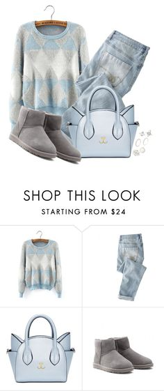 """""""Untitled #62"""" by explorer-14546802142 ❤ liked on Polyvore featuring Wrap, UGG Australia and Charlotte Russe"""