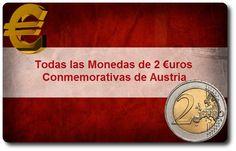 Todas las Monedas de 2 Euros Conmemorativas de Austria