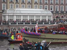 #Sinterklaas in #Amsterdam #Amstelhotel #Sint #boot #intocht #2013