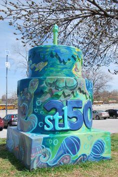 Cakeway to the West - Turtle Park view 1 #cakewaytothewest #stl250