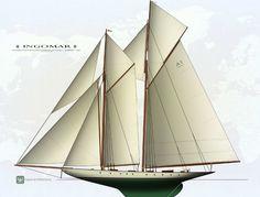 Recreation of the legendary 1903 schooner Ingomar underway - New-Build - SuperyachtTimes.com