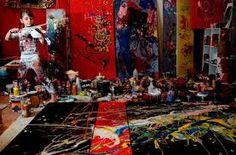 jackson pollock obras de arte EXPOSICION NIÑOS - Buscar con Google