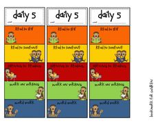 Lory's Page: Daily 5 Chapter 7 freebies