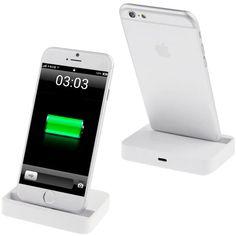 Conhece o dock para iPhone 6 / 6S da #supergadgets? Mantenha seu telefone na posição vertical enquanto carrega e sincroniza. #iphone6 #supergadgets #gadget #dock #carregador #basedemesa #basecarregadora #handsfree #vemconferir http://www.supergadgets.com.br/celular-smartphone/acessorios-de-celular-smartphones/dock-station/dock-station-para-iphone-6-iphone-6-plus-base-carregador-de-mesa-branco